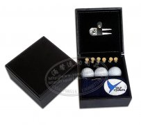 Leather golf gift box business suit towel ball ball supporti