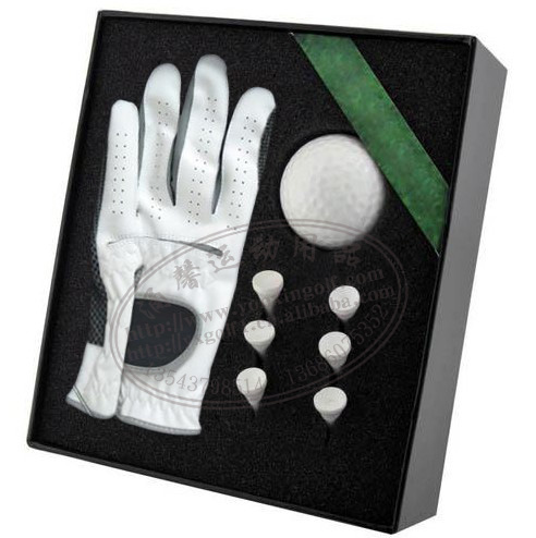 Golf gift towel glove and golf pen business gift set 2